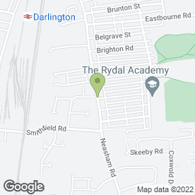 Map of Neasham Road Dental Practice in Darlington, county durham