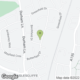 Map of Butterfield Pre-School Group in Eaglescliffe, Stockton-On-Tees, cleveland