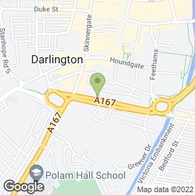Map of Victoria Dental Practice in Darlington, county durham