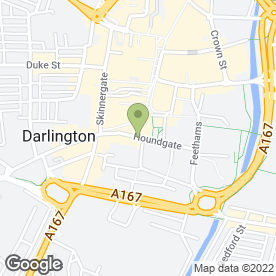 Map of Beauty & Tanning Studio in Darlington, county durham
