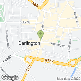 Map of Camera-A Photography in Darlington, county durham
