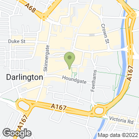 Map of New Image Beauty Salon & Specialist Clinic in Darlington, county durham