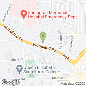 Map of PLG Couriers in Darlington