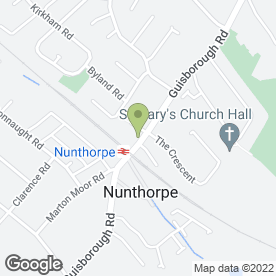 Map of Mojoe's in Nunthorpe, Middlesbrough, cleveland