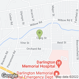 Map of Arch Household Services in Darlington, county durham