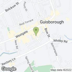 Map of Fresh Face Beauty in Guisborough, cleveland