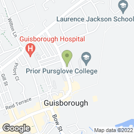 Map of Peugeot - Simon Bailes - Guisborough in GUISBOROUGH, cleveland