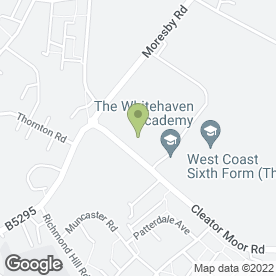 Map of The Haven Club in Whitehaven, cumbria