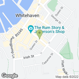 Map of Simply Food & Drinks in Whitehaven, cumbria