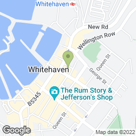 Map of Captain Senny's in Whitehaven, cumbria