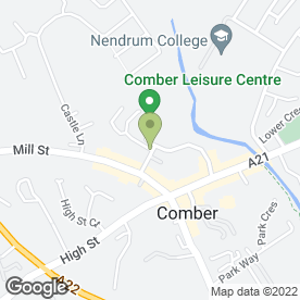Map of Comber Vets in Comber, Newtownards, county down