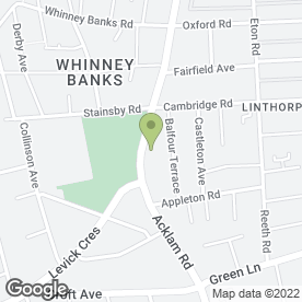 Map of Osgodby Dental Centre in Middlesbrough, cleveland