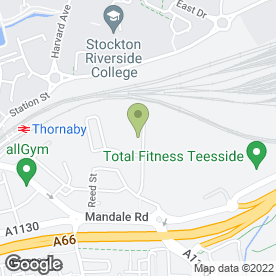 Map of ADDISON PLANT in Thornaby, Stockton-On-Tees, cleveland
