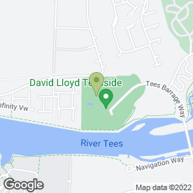 Map of Saks Beauty Teesside in Stockton-On-Tees, cleveland