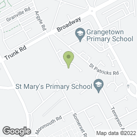 Map of Priory Day Care Group in Middlesbrough, cleveland
