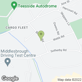 Map of Biffa Waste Services Ltd in Middlesbrough, cleveland