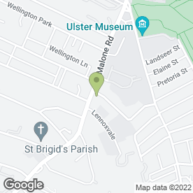 Map of John Murdock in Belfast, county antrim
