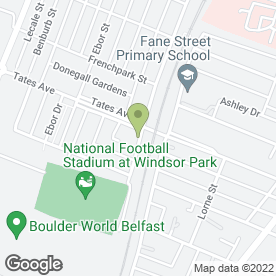 Map of Patricia The Mobile Beauty Therapist in Belfast, county antrim