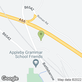 Map of Airey & Parker Removals in Appleby-In-Westmorland, cumbria