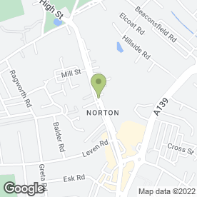Map of CLEVELAND CATERERS in Norton, Stockton-On-Tees, cleveland