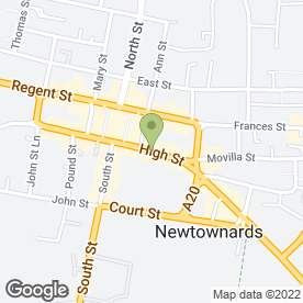Map of C T Entertainment in Newtownards, county down
