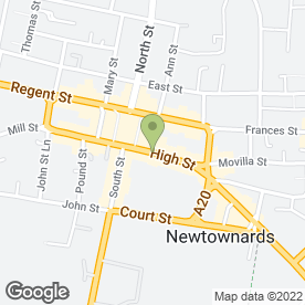 Map of Feminine Touch in Newtownards, county down