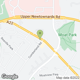 Map of MOTOPARTS in Dundonald, Belfast, county antrim