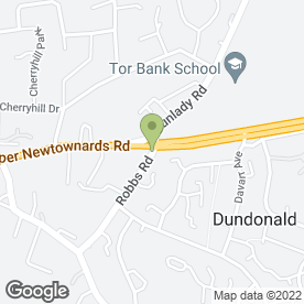 Map of H Woods & Son in Dundonald, Belfast, county antrim