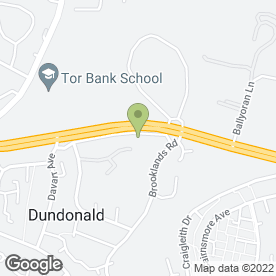 Map of J.R Tv & Video Repairs in Dundonald, Belfast, county antrim