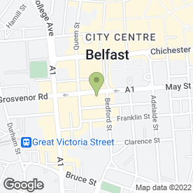 Map of GVA NI Ltd in Belfast, county antrim