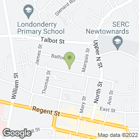 Map of Colin Adams Motorparts in Newtownards, county down