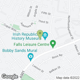 Map of BARR SECURITY SOLUTIONS in Belfast, county antrim