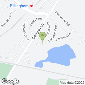 Map of K D S Landscapers in Billingham, cleveland