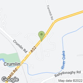 Map of GLENBURN VETERINARY SURGEONS LTD in Crumlin, county antrim