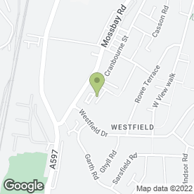 Map of Westcoast Windscreens in Workington, cumbria