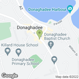 Map of Stephen Bailie Estate Agents in Donaghadee, county down