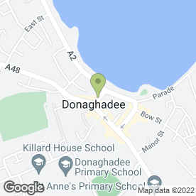 Map of Kam Inn in Donaghadee, county down