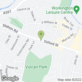 Map of Trophies Sport & Leisure in Workington, cumbria