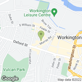 Map of Simply Food & Drinks in Workington, cumbria
