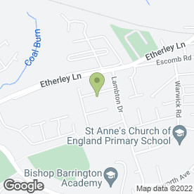 Map of North East Party Spa Hire in Bishop Auckland, county durham