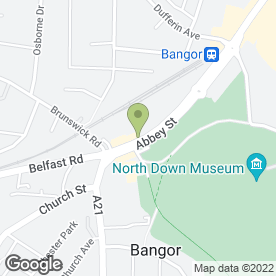 Map of Barons's in Bangor, county down