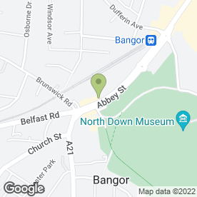 Map of Belvoir Lettings in Bangor, county down
