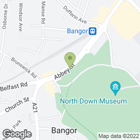 Map of Cafe Red in Bangor, county down