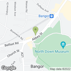 Map of La Belle Femme in Bangor, county down