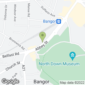 Map of Jenny Lindop in Bangor, county down