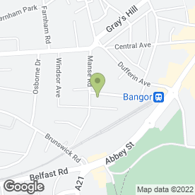 Map of Arbonne in Bangor, county down