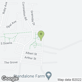 Map of AA Affordable Appliance Repairs in Chilton, Ferryhill, county durham