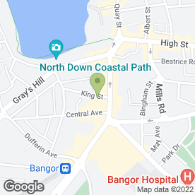 Map of The Winning Post in Bangor, county down