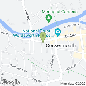 Map of VISAGE THERAPY CENTRE in Cockermouth, cumbria