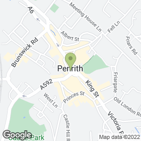 Map of HSBC Bank plc in Penrith, cumbria